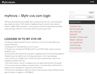 myhrviews.com screenshot