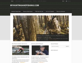 myhuntingandfishing.com screenshot