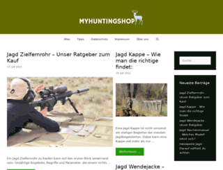 myhuntingshop.de screenshot