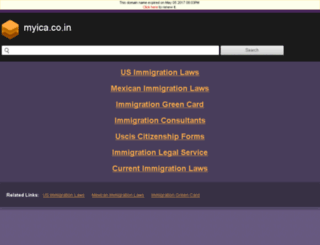 myica.co.in screenshot