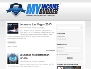 myincomebuilder.com screenshot
