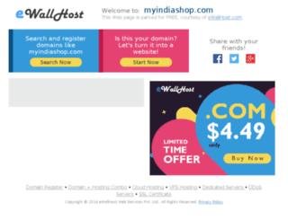 myindiashop.com screenshot