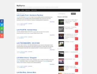 myindolirik.blogspot.com screenshot