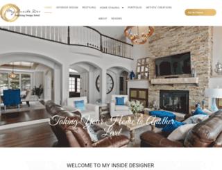myinsidedesigner.com screenshot