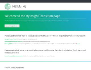 myinsight.ihsglobalinsight.com screenshot