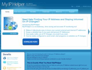 myiphelper.com screenshot