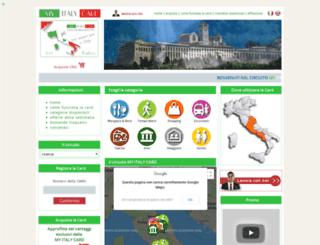 myitalycard.com screenshot