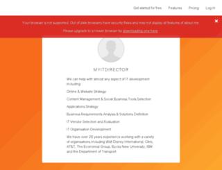 myitdirector.com screenshot