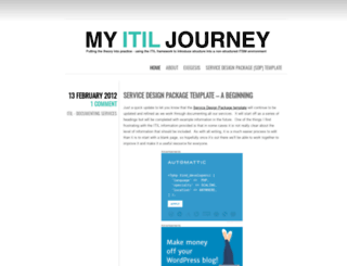 myitiljourney.wordpress.com screenshot