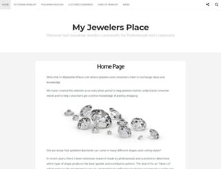 myjewelersplace.com screenshot
