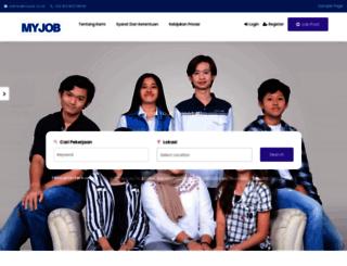 myjob.co.id screenshot