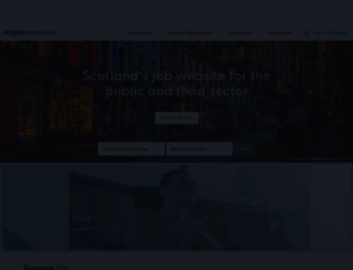 myjobscotland.gov.uk screenshot