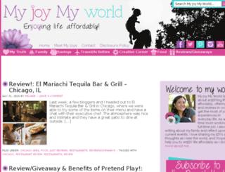 myjoymyworld.com screenshot