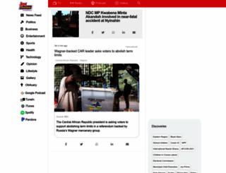 myjoyonline.com screenshot