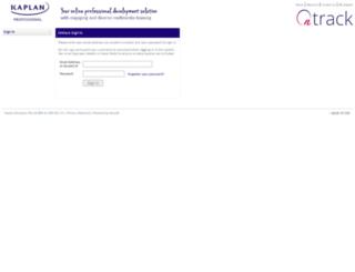 mykaplan.edu.au screenshot