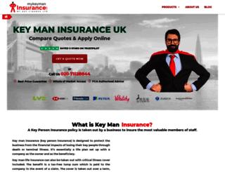 mykeymaninsurance.com screenshot