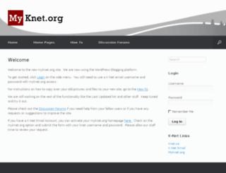 myknet.org screenshot