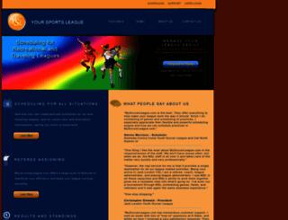 mylacrosseleague.com screenshot