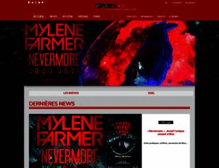 mylene.net screenshot