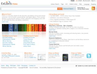 mylibrary.swinburne.edu.au screenshot