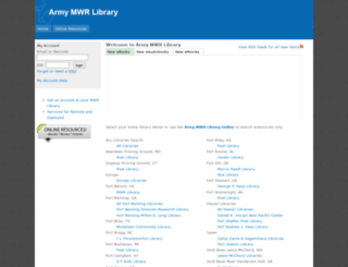 mylibraryus.armybiznet.com screenshot