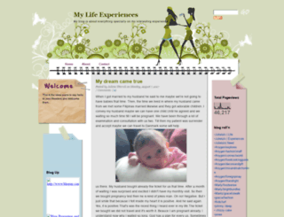 mylifeexperiences-julieta.blogspot.com screenshot