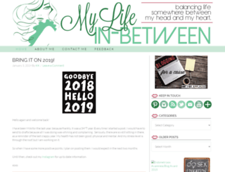 mylifeinbetween.com screenshot