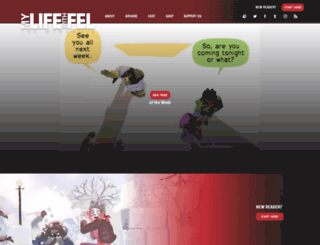 mylifewithfel.com screenshot