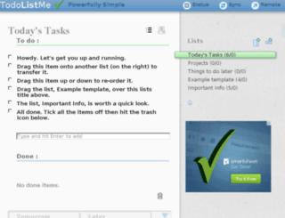 mylists.creativitygames.net screenshot