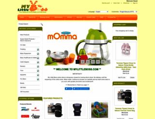 mylittleboss.com screenshot