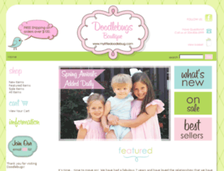 mylittledoodlebug.com screenshot