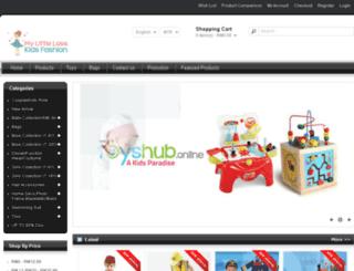 mylittlelass.com.my screenshot