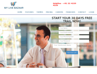 mylivebazaar.com screenshot