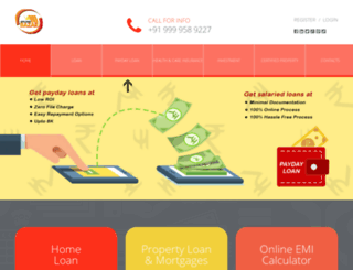 myloanbazar.com screenshot