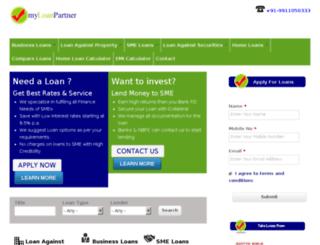 myloanpartner.com screenshot
