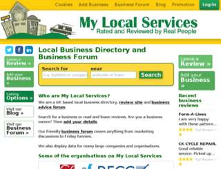 mylocalforums.com screenshot