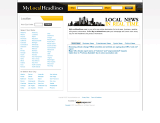 mylocalheadlines.com screenshot