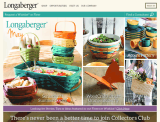 mylongaberger.com screenshot