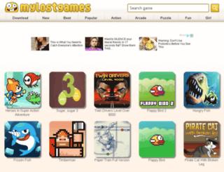 mylostgames.com screenshot