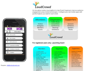 myloudcrowd.com screenshot