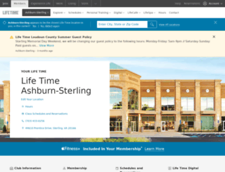 mylt.lifetimefitness.com screenshot