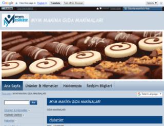 mym-makina-gida-makinalari.ticiz.com screenshot