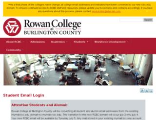 mymail.bcc.edu screenshot