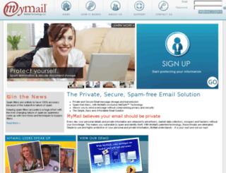 mymail.net screenshot
