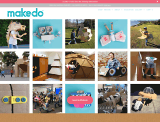 mymakedo.com screenshot