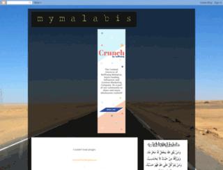 mymalabis.blogspot.com screenshot