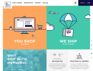 mymallbox.com screenshot