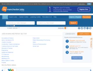 mymanchesterjobs.co.uk screenshot