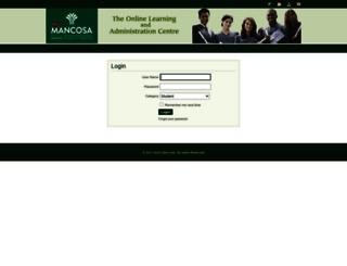 mymancosa.com screenshot