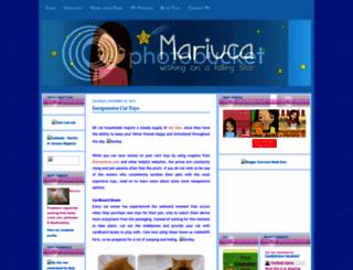 mymariuca.com screenshot